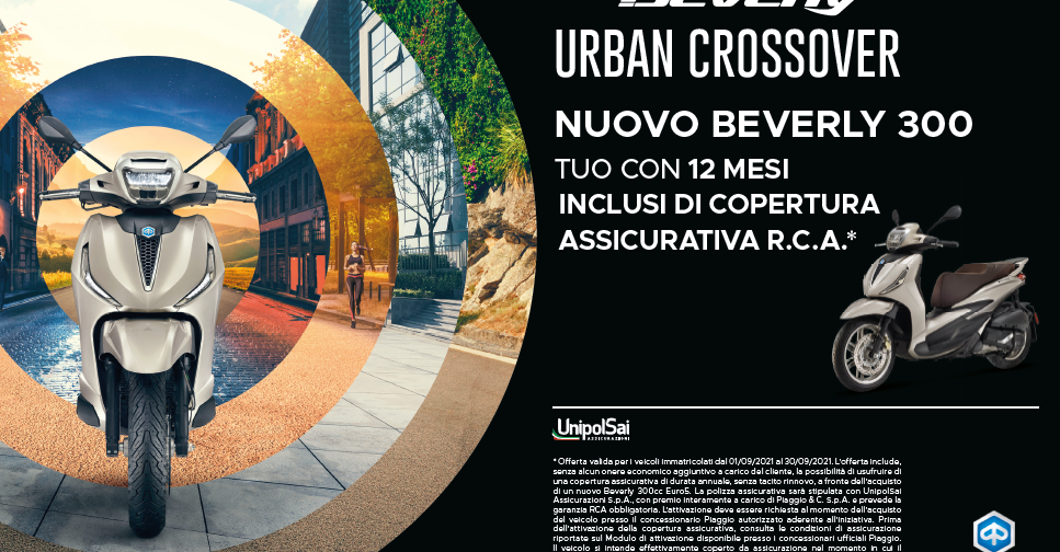 BEVERLY 300 SETTEMBRE